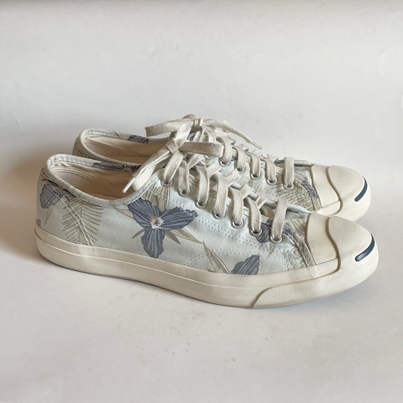 converse jack purcell floral hawaiian sneakers